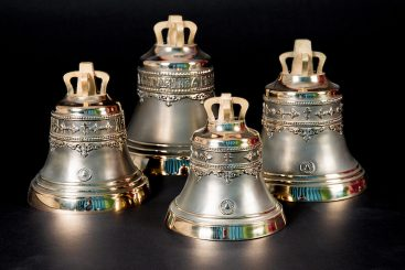 церковные колокола Набор №2 из четырех колоколов